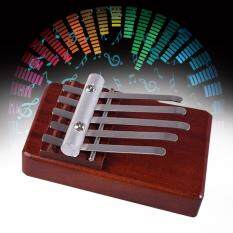 5 Keys Finger Thumb Piano Rosewood Instrument African Musical Instruments - intl