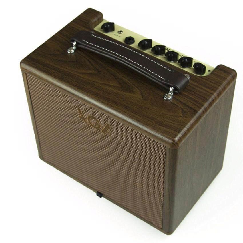 AGA แอมป์ กีตาร์โปร่ง Acoustic Guitar Amp 20 วัตต์ (น้ำตาล)