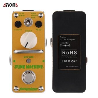 AROMA AFK-3 Funk Machine Auto Wah Electric Guitar Effect Pedal MiniSingle Effect with True Bypass - intl