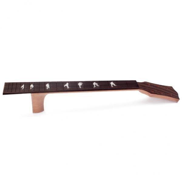 BolehDeals 41 inch Acoustic Guitar Neck Solid Mahogany & Fingerboard Fretboard Rosewood - intl