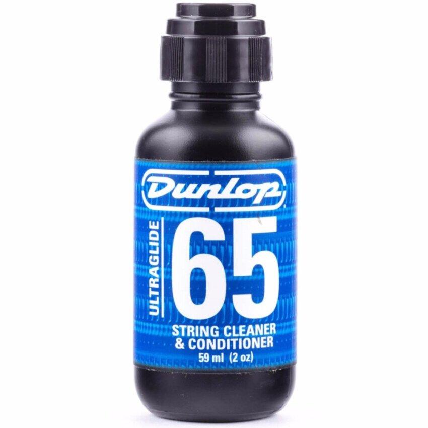 Dunlop น้ำยาทำความสะอาดสายกีตาร์ รุ่น Ultraglide 65 (ที่ทำความสะอาดสายกีตาร์, Guitar String Cleaner)