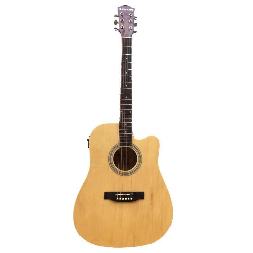 กีตาร์โปร่งไฟฟ้า guitar G-Danube GH41N EQ