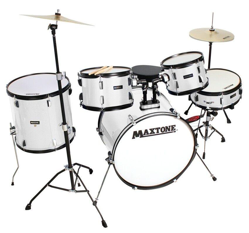 Maxtone กลองชุด รุ่น MXC-3012 WH (สีขาว)