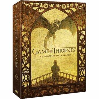 Media Play Game of Thrones The Complete 5th Season/มหาศึกชิงบัลลังก์ ปี 5 DVD
