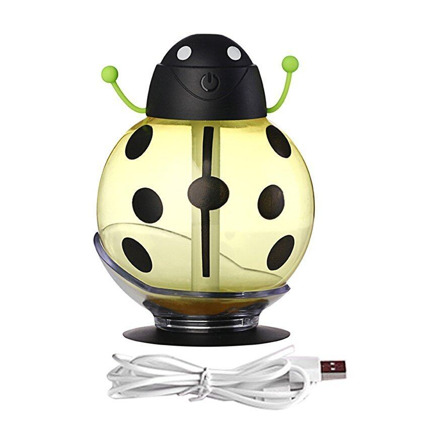 Allwin HB-05 Cute Beetle-shaped Humidifier Smoked Light ProtectingAir Humidifier yellow  ...
