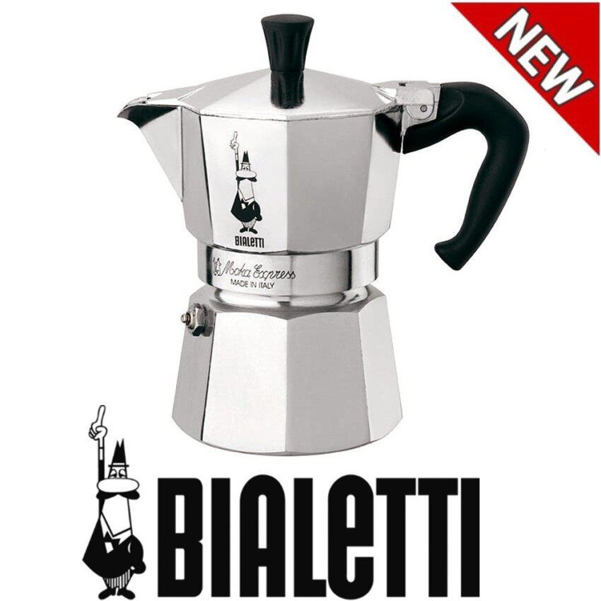Bialetti Moka Express 6-Cup Stovetop Espresso Maker(Silver) - intl ...