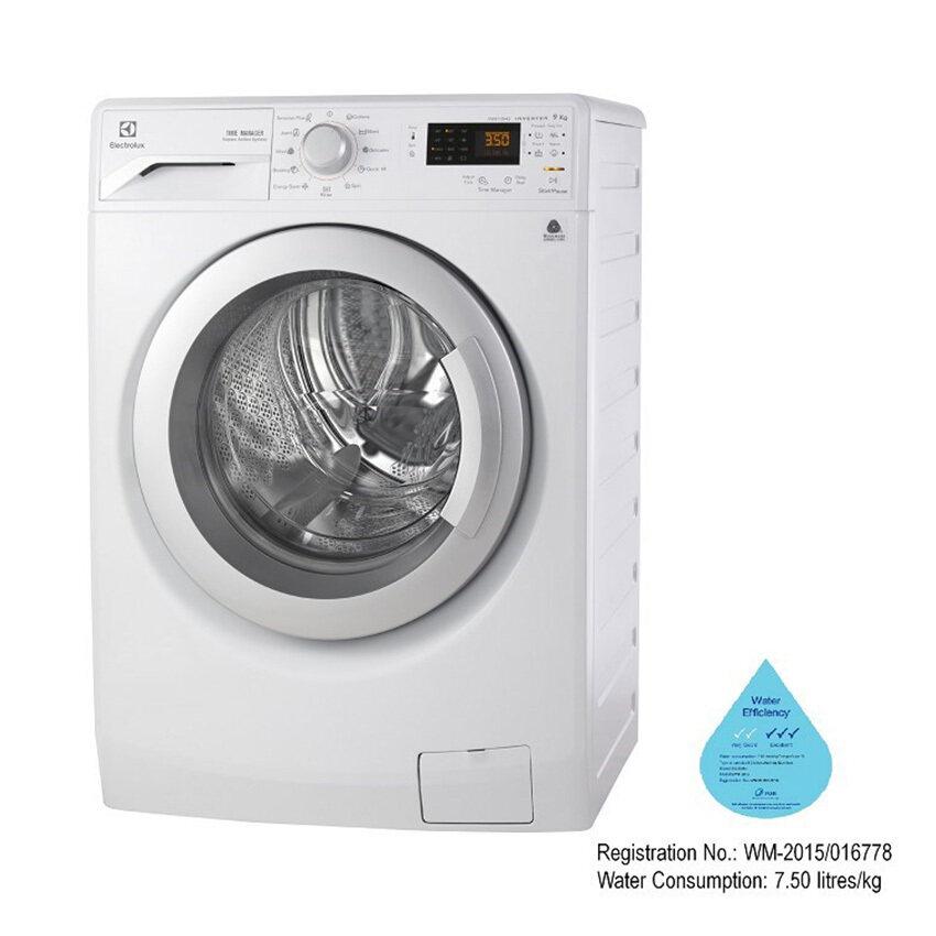 Electrolux เครื่องซักผ้าฝาหน้า ความจุ 9 กก. รุ่น EWF12942 ฟรี! ไมโครเวฟ EMM2023 (มูลค่า 1,990 บาท)