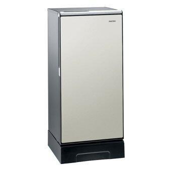 Hitachi ตู้เย็น 1 ประตู พร้อมชั้นวางกระจกแก้วนิรภัย รุ่น R-64V4 ขนาด 6.6คิว (สีขาวมุก)