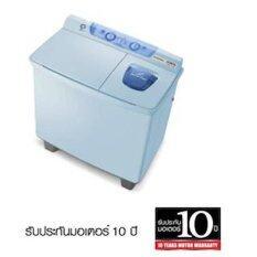 Hitachi เครื่องซักผ้าฝาบน 2 ถัง ขนาด 10 กก. รุ่น Ps-100lj