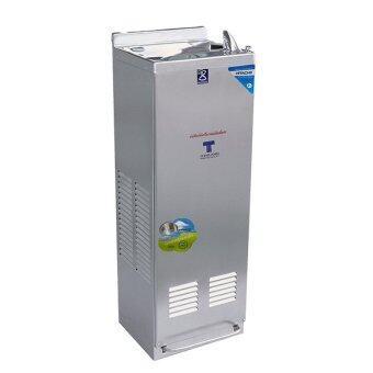 Maxcool ตู้ทำน้ำเย็น กด 2 ทาง รุ่น MC-6FN แบบต่อท่อ (มือกดเท้าเหยียบ)