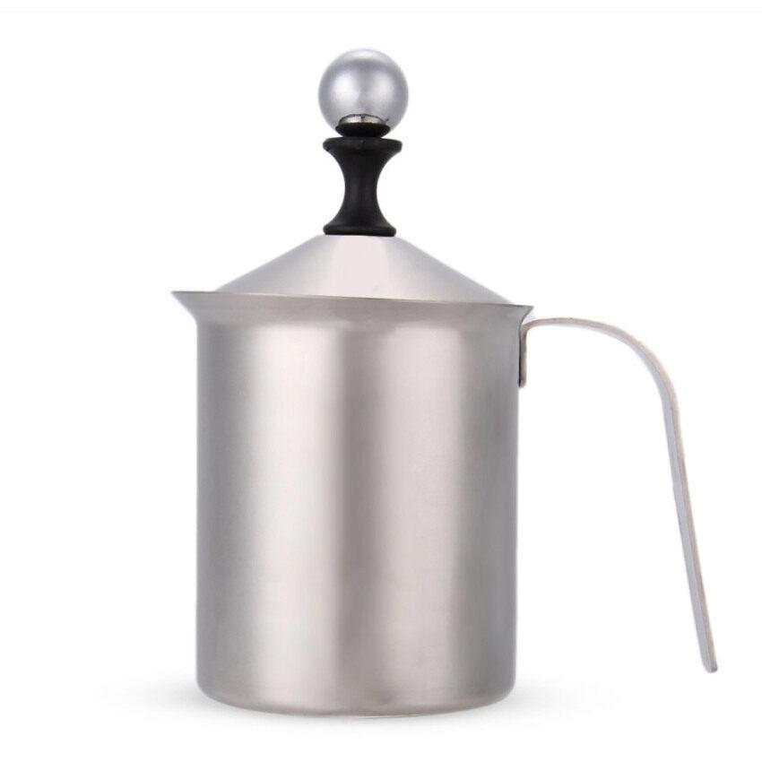 Milk Frother สแตนเลส สำหรับชงกาแฟ 800 cc
