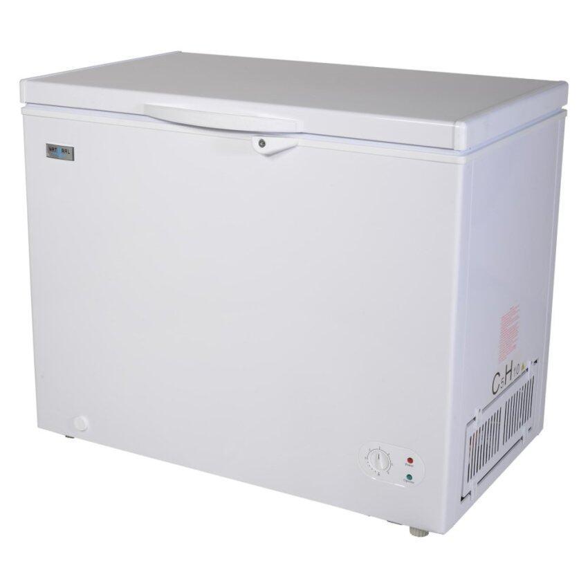 NATURAL ตู้แช่แข็ง NATURALฝาทึบ 258 ลิตร รุ่น NFT-4258 ( สีขาว ) ...