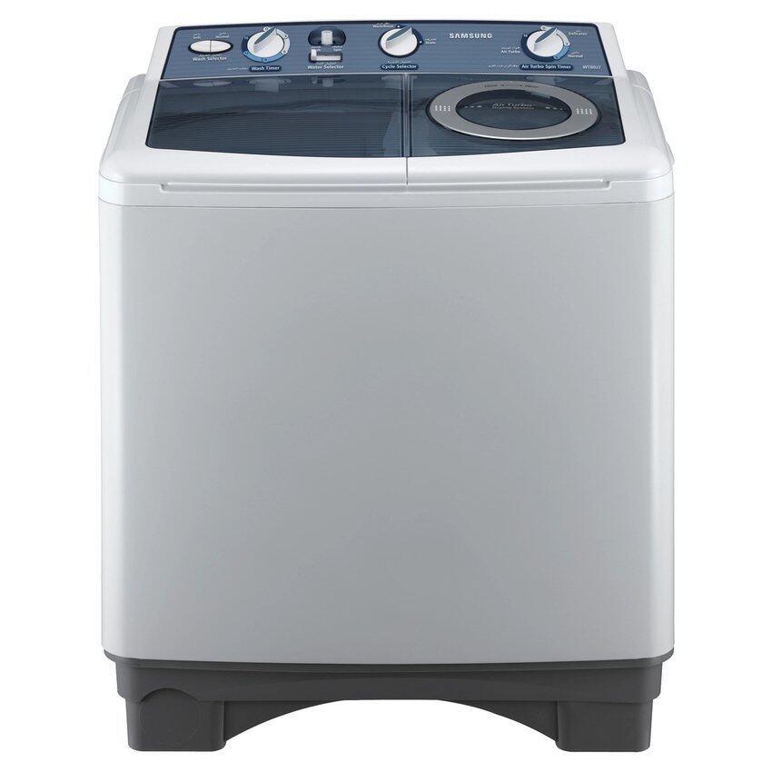 SAMSUNG เครื่องซักผ้า 6.6 kg. 2 ถัง รุ่น WT86J8PEC/XST ในครัวsbo