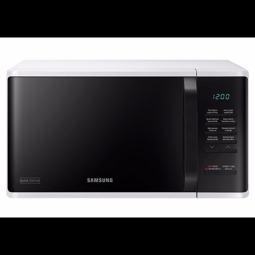 Samsung เตาอบไมโครเวฟ อุ่นอาหาร MS23K3513AW, 23 ลิตร MS23K3513AW ...