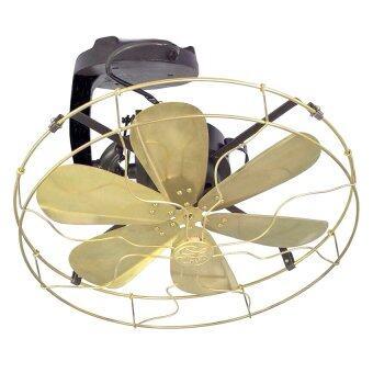 SE พัดลมคลาสสิค 16 นิ้ว เพดาน(ส่ายแบบโคจร) ตะแกรงห่าง