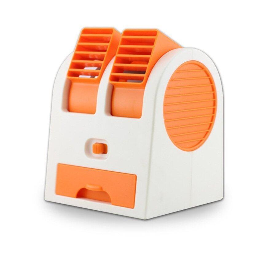 SMART LIKE พัดลมไอน้ำ แบบพกพา-สีส้ม ...