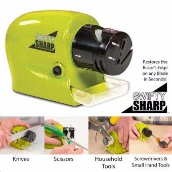 SWIFTY SHARP ที่ลับคมแบบมอเตอร์ไร้สาย ลับมีด กรรไกร คีมตัด ไขควง สรรพัดประโยชน์