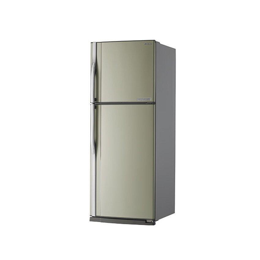 ตู้เย็น 2 ประตู TOSHIBA รุ่น GR-R32KD(CZ) 10.1คิว ชั้นกระจก สีบรอนซ์ทอง