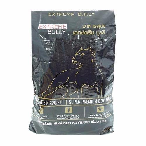 F1 อาหารสุนัข Extreme Bully (อาหารสุนัข เอ็กซ์ตรีมบูลลี่) 10กก. (Black)