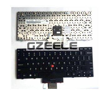 100% ใหม่แป้นพิมพ์สำหรับ LENOVO Thinkpad x100E x120 x120E x100 E10 E11 US คอมพิวเตอร์แป้นพิมพ์ไม่มีเส้นขอบสีดำ