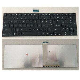 100% ใหม่แป้นพิมพ์สำหรับ TOSHIBA C850 C855 C855D L850 L850D L855 US แป้นพิมพ์คอมพิวเตอร์แล็ปท็อปสีดำ