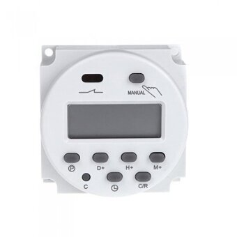 12V Digital Time Switch 7 Days Electronic Timer LCD Display PowerRelay Programmable - intl