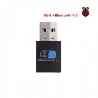 150Mbps USB Adapter Wifi + BT USB 4.0 Wireless Bluetooth Adapter Support Windows/Win10/Win8(Black) - intl