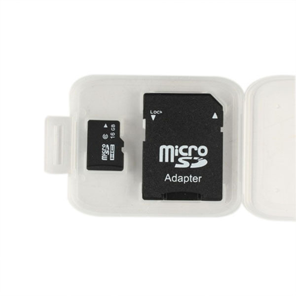 16GB Flash Micro SD TF MicroSD TF Memory Card W/ SD Adaptor - intl