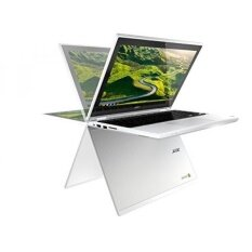 "2017 New Flagship Acer Premium R11 11.6"" 2-in-1 Convertible IPS Touchscreen Chromebook - Intel Quad-Core N3160 1.6GHz, 4GB RAM, 32GB SSD, Bluetooth, HD Webcam, HDMI, USB 3.0, Chrome OS - White - intl"