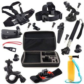 21 in 1 Accessories Outdoor Sports Bundle Kit for GoPro HD Hero 43+ 3 2 Hero+ LCD Hero4 Session
