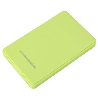 2.5 Inch USB 2.0 SATA Support 2 TB Mobile Hard Disk Box No Screw - intl