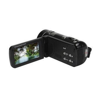 3.0Inch Touch Panel FHD 1080P 24MP Digital Video Camera Black - Intl