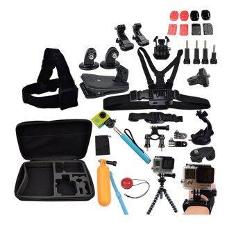 โกโปร คิท สุดคุ้ม 34 in 1 ชุดอุปกรณ์กล้อง โกโปร Gopro Equipments set for Gopro - Xiaomi Yi - SJ cam Action cam Suit Accessories