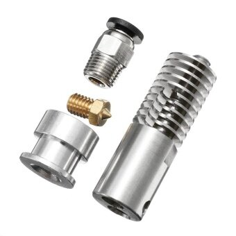 3D Printer Parts B3 Extrusion Head All Metal Stainless Steel Long Style - intl