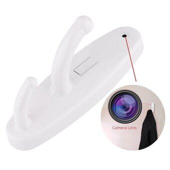480p Resolution Clothes Hook Motion Detection Mini Spy CameraHidden HD DVR Cam - intl