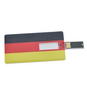 4GB Usb Flash Drive Wood Leaf Pen Drive Usb Flash Drive Wooden Memory Stick Pendrives U Disk Bamboo - intl