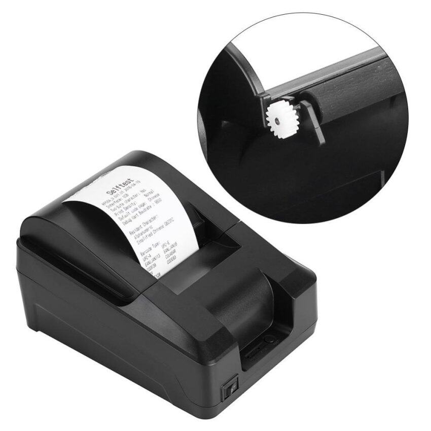 58mm Thermal Receipt Printer Handheld USB 70mm/sec Printing EU Plug - intl