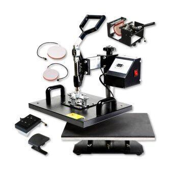 เครื่องพิมพ์ภาพลงบนวัสดุ 5in1 เครื่องพิมพ์ภาพ Heat Transfer Machine