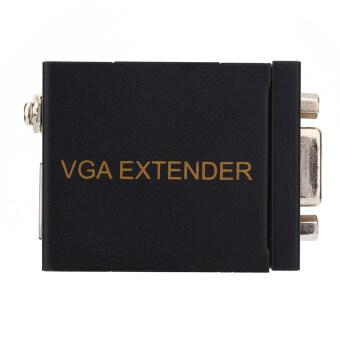 60M VGA Network Signal Extender Sender RJ45 CAT5e/6 Transmitter Receiver Adapter