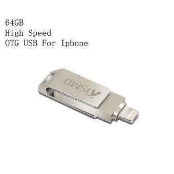 64GB 64GB High Speed OTG USB Flash Drive USB 2.0 U Disk Memory Stick For Iphone Ipad Ipod - intl
