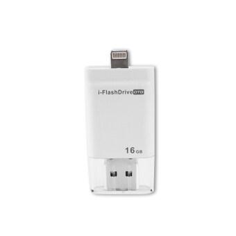 64GB i-flashdrive OTG USB Flash Drive for iphone 5/5c/5s/6/6s/6splus (white)