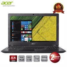 Acer Aspire A315-21-442V/T007 (NX.GNVST.007) AMD A4-9120/4GB/1TB/15.6/Linux (Black)