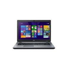"Acer แล็ปท็อป รุ่น Aspire E5-475-316S 14"" i3-6006U 4GB/500GB UMA LNX (สี Steel Grey)"
