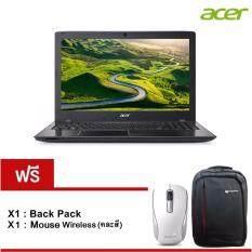 "Acer Aspire E5-553G-14F8(NXGEQST008) AMD A12-9700P 2.5GHz/8GB/1TB/AMD R7 M440 2GB/15.6""/Linux (Black) รับประกัน 2 ปี"