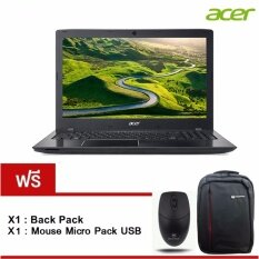 "Acer Aspire E5-553G-T03K(NXGEQST002) AMD A10-9600P/ 8GB/ 1TB/ R72G M440 2GB /15.6"" /Linux (Black) รับประกัน 2 ปี"