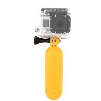 ด้ามจับลอยน้ำ กล้อง action cam gopro yi sjcam ลอยน้ำ (สีเหลือง)
