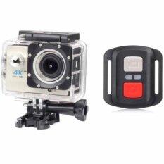 กล้อง Action Camera 4k Ultra Hd พร้อมรีโมท ราคา 1,600 บาท(-35%)