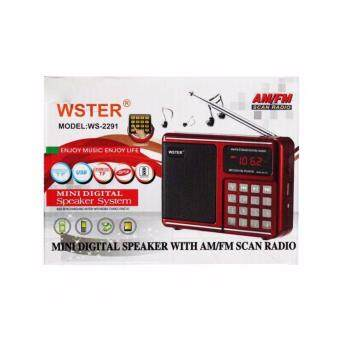 ซื้อ/ขาย วิทยุ AM/FM พกพา WORLD RECEIVER WSTER WS-2291
