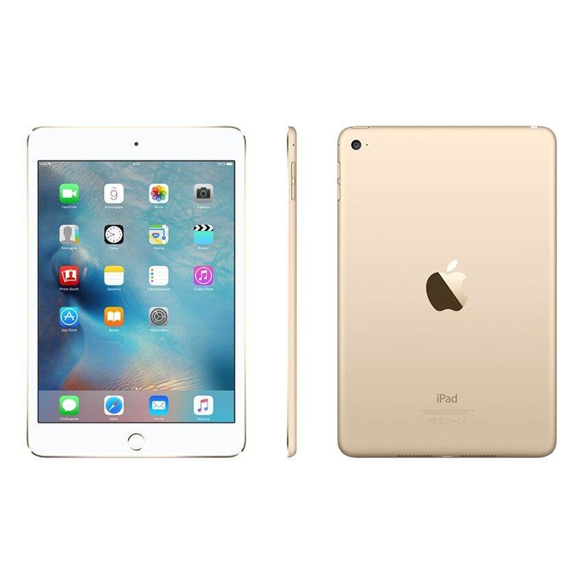 Apple iPad mini 4 Wi-Fi 64GB (Gold) ...