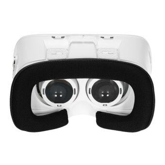 Arealer VR Virtual Reality Glasses Headset 3D Glasses DIY 3D Movie Game Glasses w/ Magnetic Switch Head-Mounted Headband White for iPhone Samsung / All 3.5 ~ 6.0